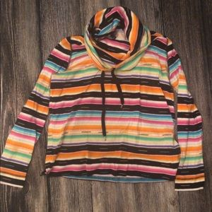 Tops - Serape cowl neck top by Chaps